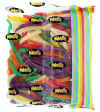Snakes Lollies 1kg - Rainbow Confectionery image