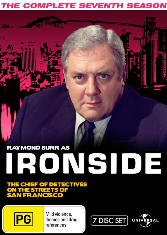 Ironside - Season 7 Fatpack Version on DVD