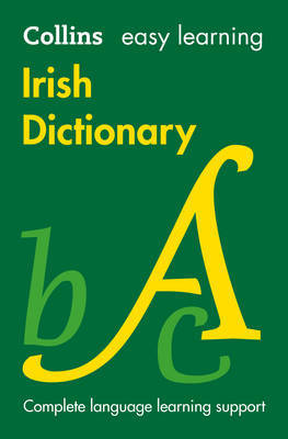 Easy Learning Irish Dictionary by Collins Dictionaries image