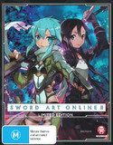 Sword Art Online 2 (Part 2) Limited Edition on Blu-ray
