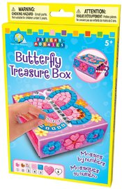 The Orb Factory: Sticky Mosaics - Butterfly Treasure Box
