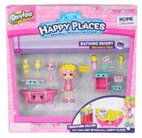 Shopkins: Happy Places - Bathing Bunny Set