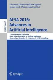 AI*IA 2016 Advances in Artificial Intelligence image