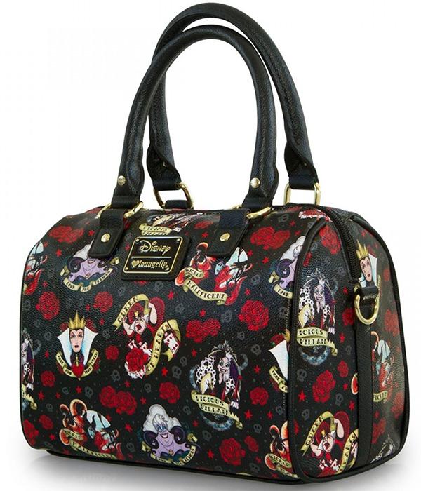 Loungefly Disney Villains Tattoo Duffle Bag image ... 21d41dd8d8771