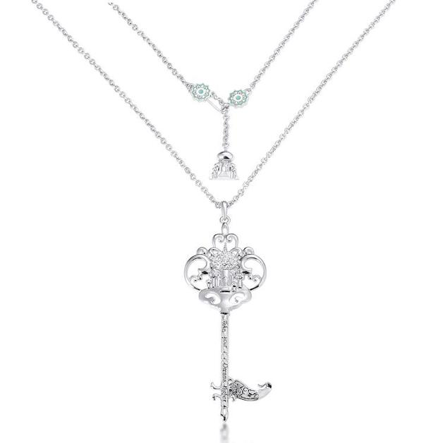Couture Kingdom: Disney - Princess Jasmine Necklace (White Gold)