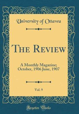 The Review, Vol. 9 by University of Ottawa image