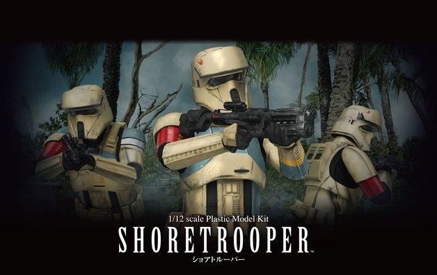 Star Wars 1/12 Shoretrooper - Scale Model Kit