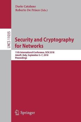 Security and Cryptography for Networks image