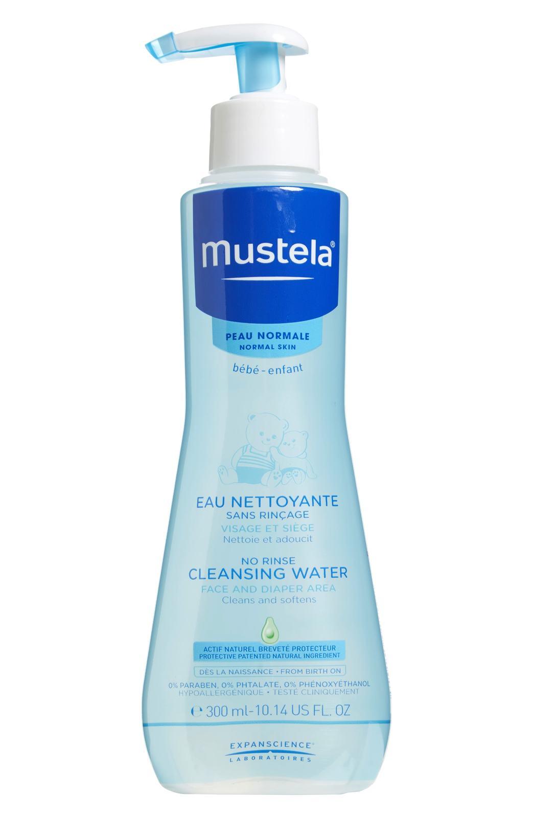 Mustela: No Rinse Cleansing Water (300ml) image