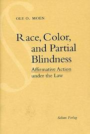 Race Color and Partial Blindness by Solum Forlag Solum Forlag image