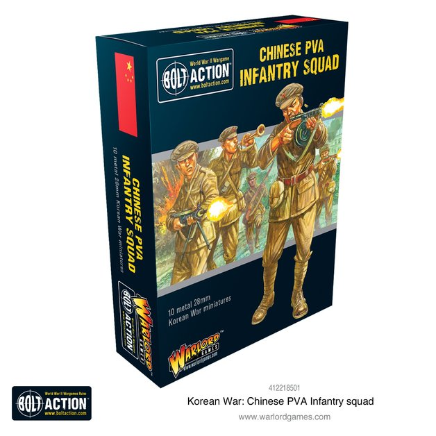 Bolt Action: Chinese PVA Infantry Squad