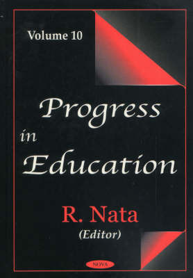 Progress in Education, Volume 10 image