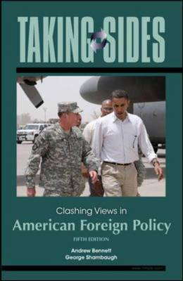 Clashing Views in American Foreign Policy by Andrew Bennett image