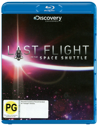 Last Flight Of The Space Shuttle on Blu-ray