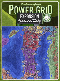 Power Grid: France / Italy Expansion