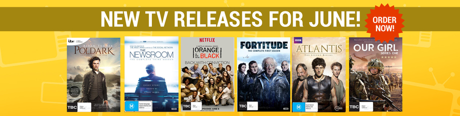 New TV Releases for June