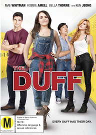 The Duff on DVD