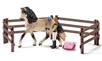 Schleich: Horse Care Set Andalusian