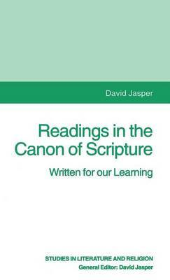 Readings in the Canon of Scripture by David Jasper image