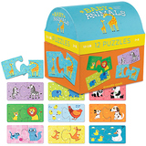 Crocodile Creek: 2pc Puzzle Set - Baby Animals