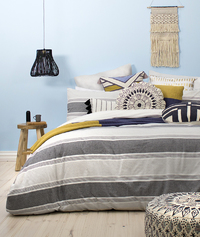 Bambury Super King Quilt Cover Set (Peri)