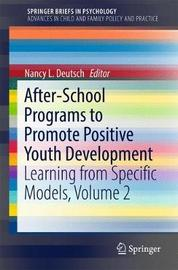 After-School Programs to Promote Positive Youth Development image