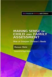 Making Sense of Child and Family Assessment by Duncan Helm image