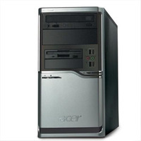 Acerpower Fh Minitower Desktop PC Intel Dual Core E2160 1GB 160GB DVDRW GBLAN XP Pro image