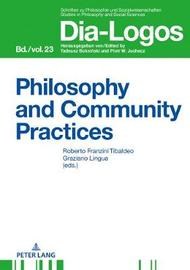 Philosophy and Community Practices image