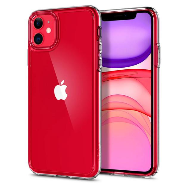 Spigen: iPhone 11 Ultra Hybrid Case - Crystal Clear