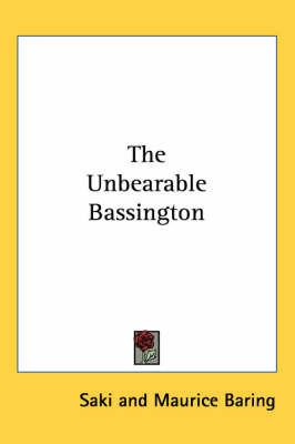 The Unbearable Bassington by Saki image