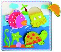 Fun Factory - Sea Animals Chunky Puzzle