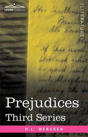 Prejudices by H.L. Mencken image