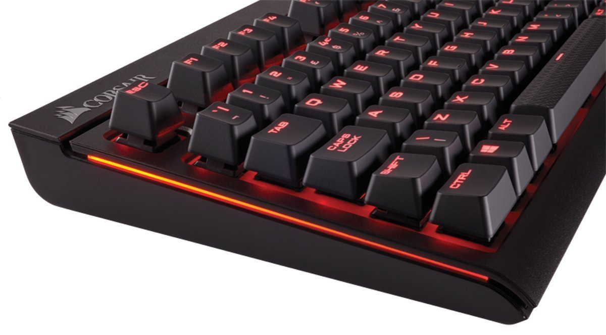 Corsair STRAFE Mechanical Gaming Keyboard (Cherry MX Blue) for PC image