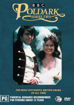 Poldark - Series 2 (3 Disc Box Set) on DVD