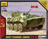 Zvezda 1/100 Soviet BTR-80 APC