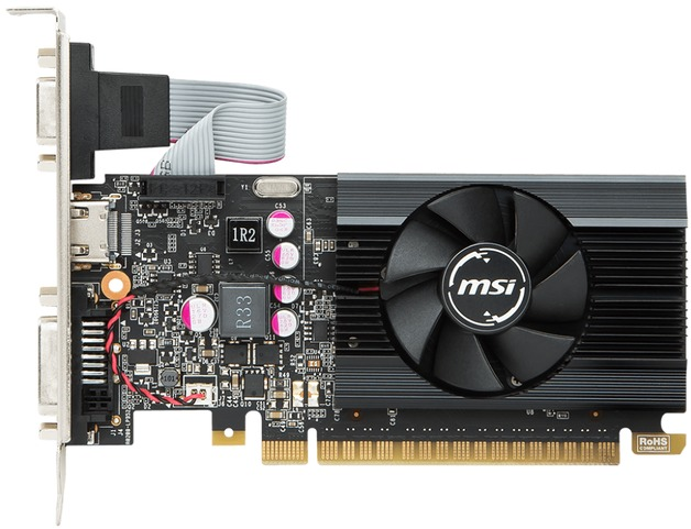 MSI GeForce GT 710 2GB Low Profile Graphics Card