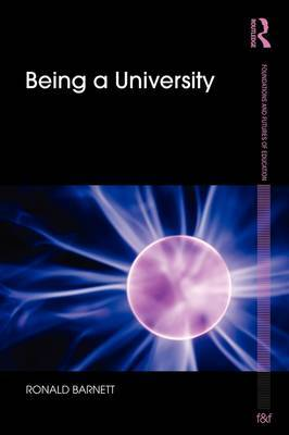Being a University by Ronald Barnett image