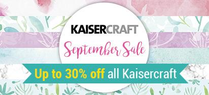 Kaisercraft on Sale!