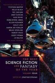 The Best Science Fiction and Fantasy of the Year: v. 4 by Jonathan Strahan image
