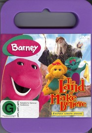 The Barney: Land Of Make Believe on DVD image