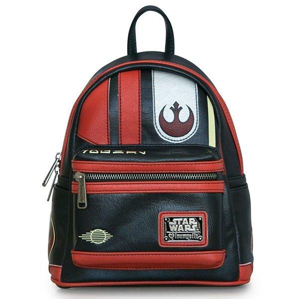 1c0873dd7a2 Loungefly Star Wars Poe Dameron Cosplay Mini Backpack