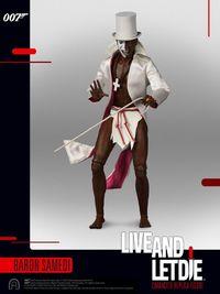 "James Bond: Live and Let Die - Baron Samedi - 12"" Articulated Figure image"