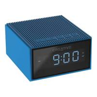 Creative Chrono Wireless Bluetooth Speaker and FM radio clock- Blue
