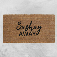 Natural Fibre Doormat - Sashay Away