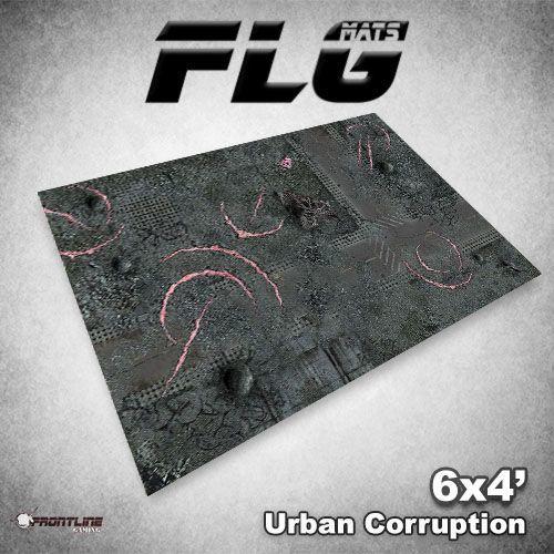 FLG Urban Corruption Neoprene Gaming Mat (6x4)