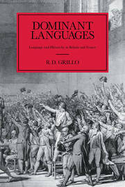 Dominant Languages by Ralph D. Grillo