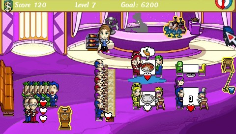 Diner Dash for PSP image
