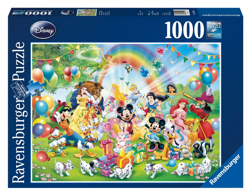 Ravensburger 1000 Piece JIgsaw Puzzle - Disney Mickey's Birthday image
