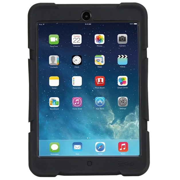 Gecko Rugged Case for iPad mini (Black)